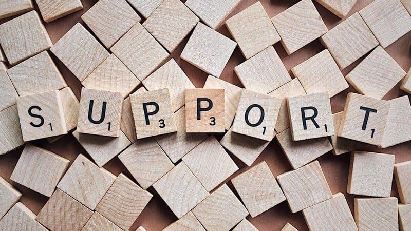 supportをイメージする画像