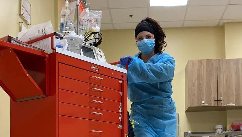 ICU看護師のイメージ画像